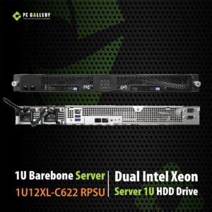 เครื่องเซิฟเวอร์ ASRock Rack 1U12XL-C622, มีโปรโมชั่นพร้อม 4TB HDD Enterprise ราคาพิเศษสุด