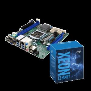 โปรฯชุดคู่ MB ASRock C236WSI+Intel Xeon E3-1230v6 3.50GHz 4C/8T