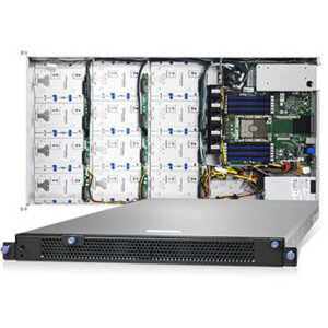 TYAN GT86CB5630 (B5630G86CV12R), 12-bays 3.5″ SAS12G/SATA6G Hot-Swap 1U Storage Server