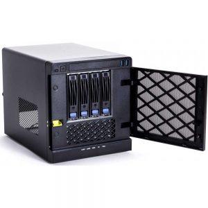 NetMICRO T04-C236WSI, Intel Xeon E3-1225v6, 4GB ECC, 500GB HDD Max. up to 40TB