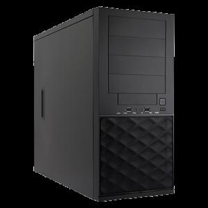 NetMicro T052-E3C236D4M, Intel Xeon E3-1230v6, 4xGbE, Quad LAN, RAID 0/1/5, 8GB DDR4 ECC UDIMM