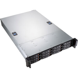 2U Case, HEC S2E01-312 with 800W redundant รองรับ SAS12G/SATA6G 12-bays