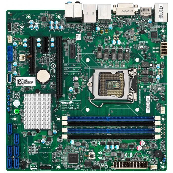 TYAN S5545AG2NR-HE เมนบอร์ดที่ใช้ได้ทั้งโปรเจค Server และ Workstation