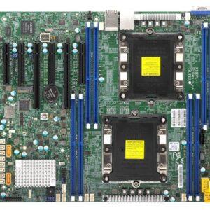 Supermicro, X11DPL-I, Dual Socket 3647, 2*GbE, RAID, iKVM, 1*M.2