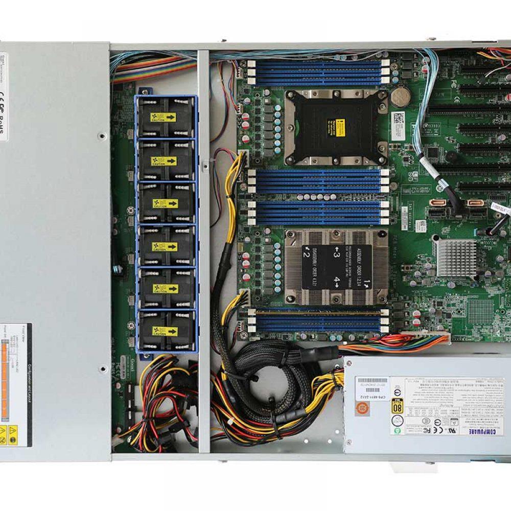 PCG DIY ตอน ทดสอบระบบไฟLED SGPIOของIntel RAID RTSe บนเครื่องServer RDP104-S7103
