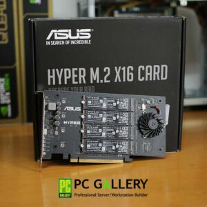 ASUS Hyper m.2 with 4*256GB SSD Intel 760P