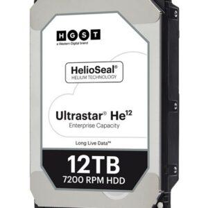 HGST HUH721212AL5200- 12TB 3.5″ SAS 7.2K 12Gb/s (3Yr)