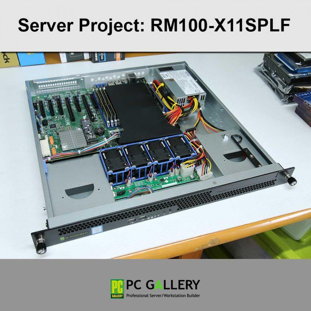 โครงงานServer, RM100-X11SPLF