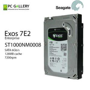 Seagatge 1TB, ST1000NM0008, EXOS 7E2, 7200RPM (3Yr)