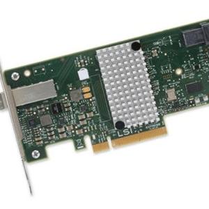 แผงวงจรควบคุมฮาร์ดดิสค์/RAID ยี่ห้อ Broadcom® SAS 9300-4I4E HOST BUS ADAPTER