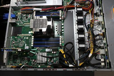การทดสอบNVME บน Mainboard X11SRA-FกับCase Supermicro 826BAC4-R1K23LPB