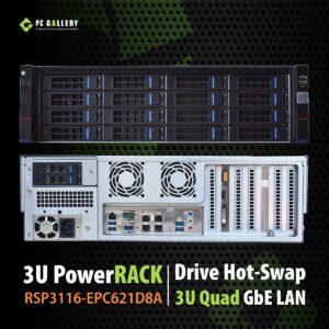 เครื่องเซิฟเวอร์ 3U Server PowerRACK RSP3116-EPC621D8A