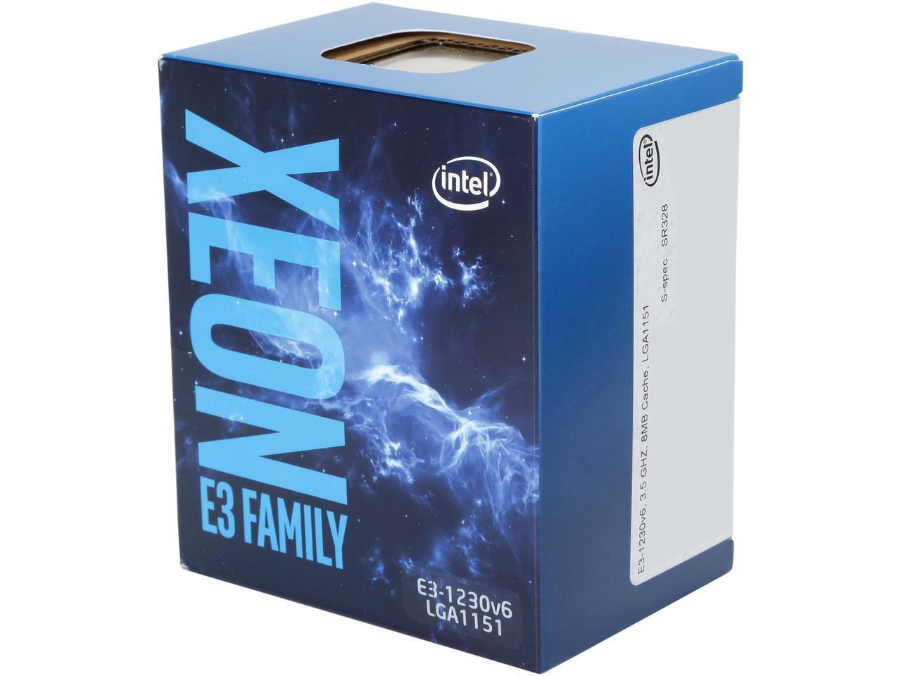 CPU-1151-Xeon-E3-1230_v6-Intel