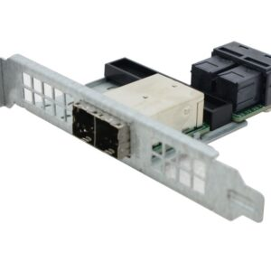 Supermicro AOM-SAS3-8I8E, Internal Mini-SAS HD (SFF-8643) to external Mini-SAS HD (SFF-8644) converter