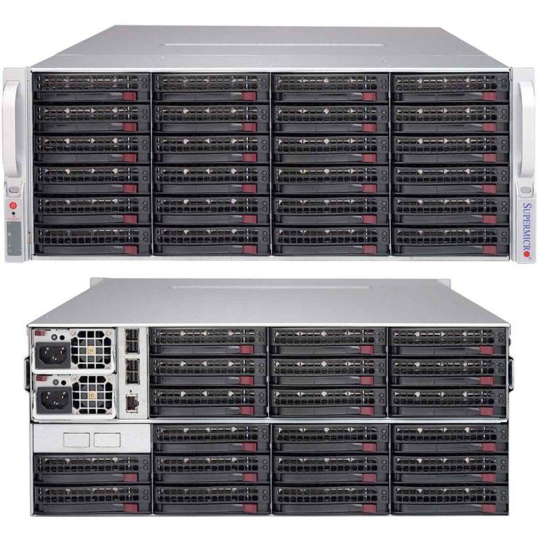 Supermicro SC847E1C-R1K28JBOD ใช้งาน IPMI