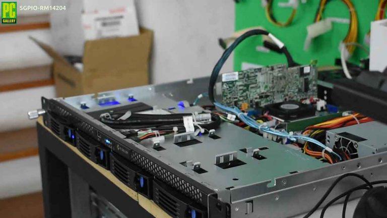 PCG-DIY: ทดสอบสัญญาณSGPIOบนเคสRM41204 ด้วยLSI 9260-8i