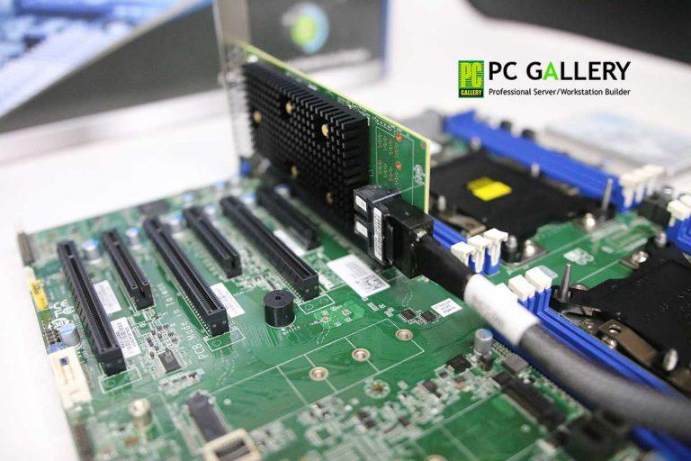 PCG DIY – สาธิตการติดตั้ง AVAGO MegaRAID 9440-8I บนเมนบอร์ด Tyan S7100AG2NR