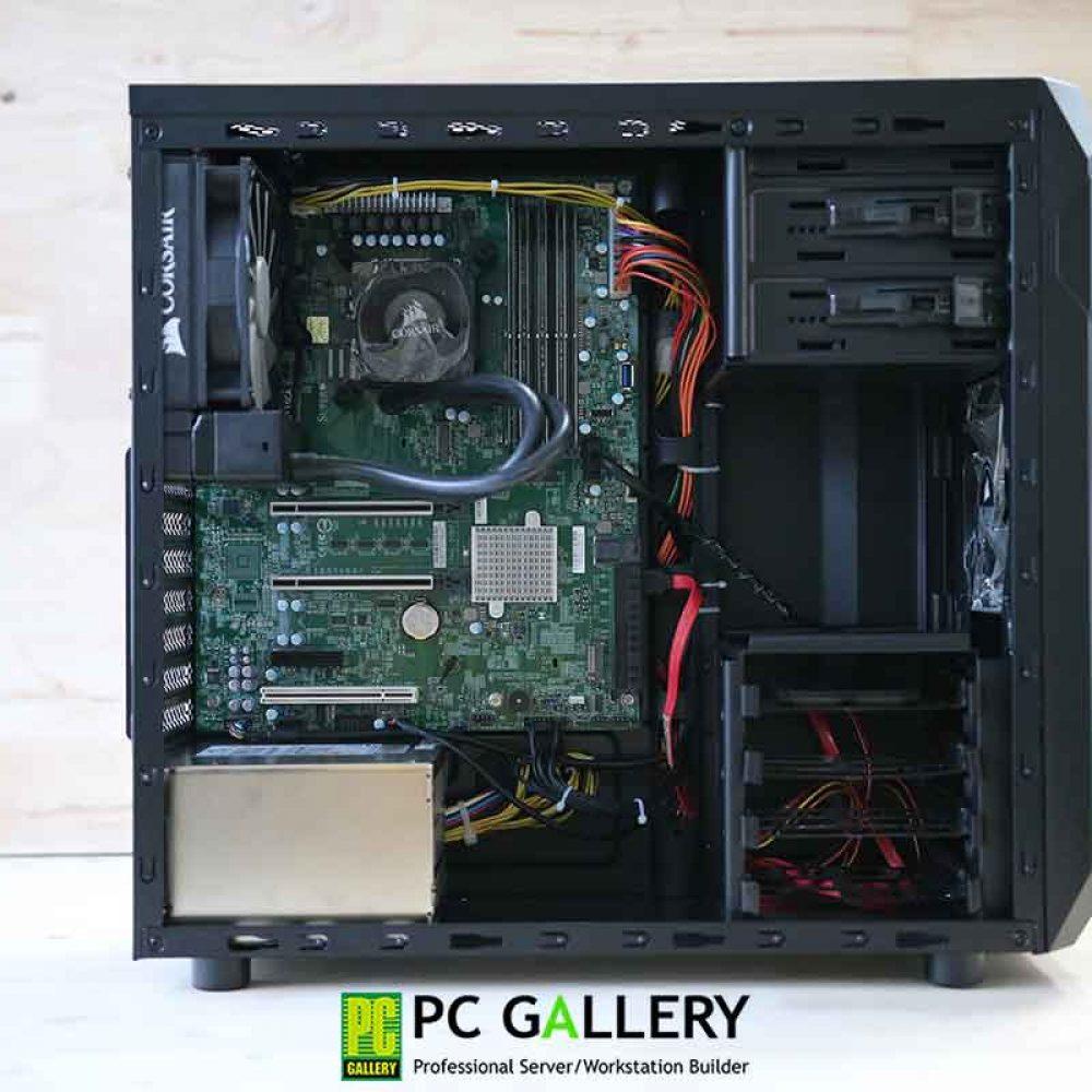 PCG DIY : Workstation X3-X11SCA ตอน ทดสอบประสิทธิภาพกับ Intel Xeon E-2278G 3.4G 8C-16T