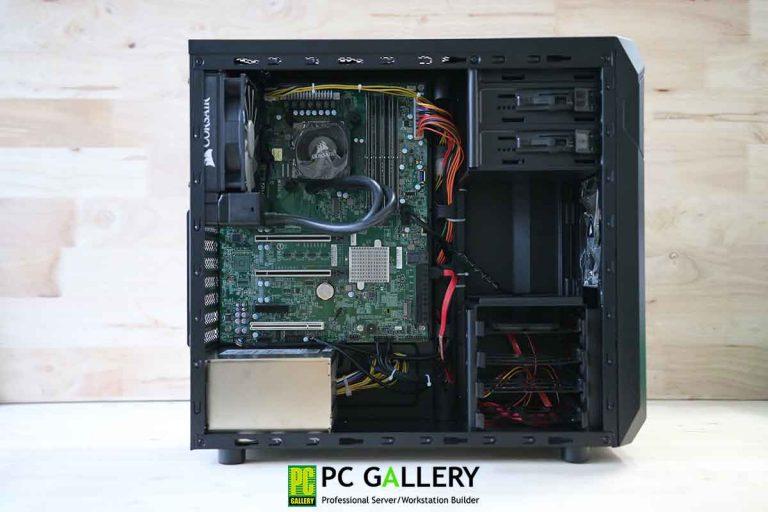 PCG DIY : Workstation X11SCA ตอน สาธิตการติดตั้ง MegaRAID SAS 9440-8i ให้สามารถใช้ NVMe Drive แบบRAID 0/1ได้