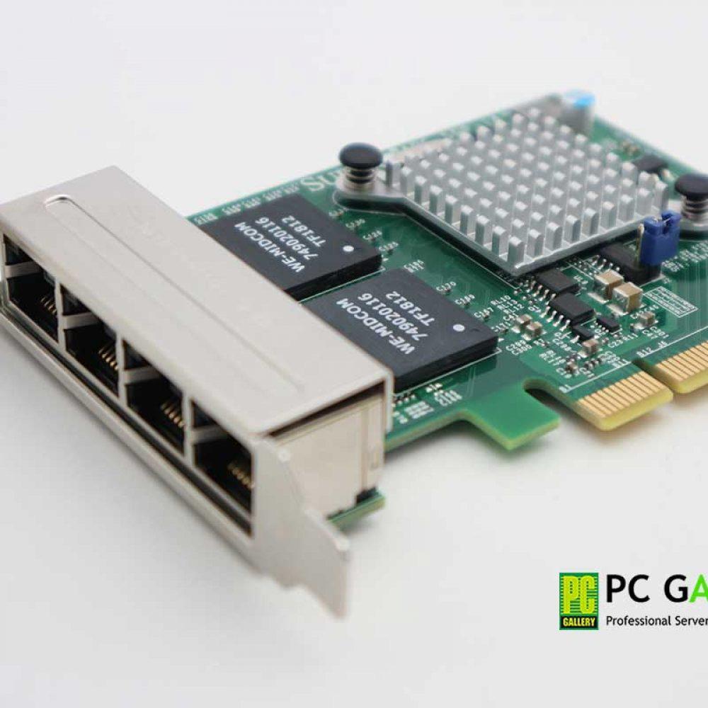 PCG DIY : Supermicro AOC-SGP-i4 ตอน การทำTeaming บน LAN Intel i350 4-ports