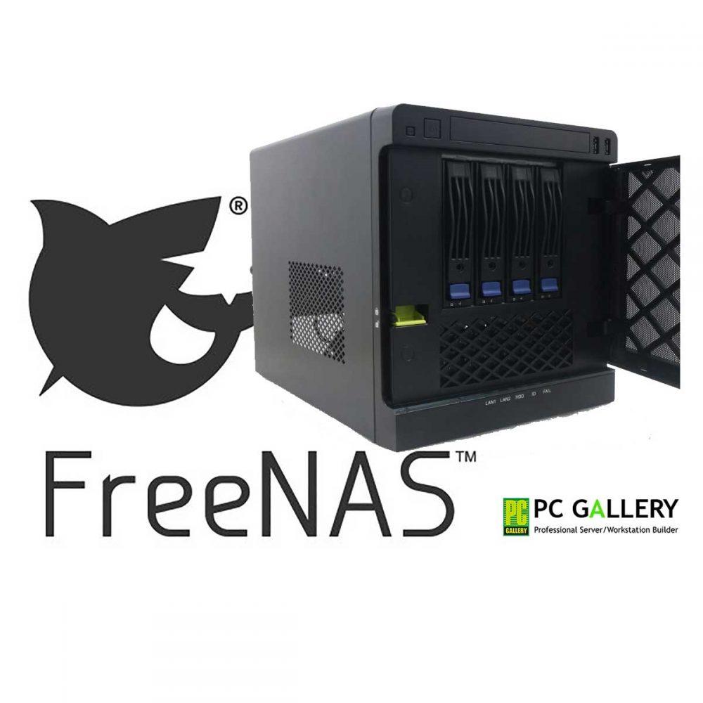 PCG DIY : Server NAS-MS04 ตอน ติดตั้ง FreeNAS 11.2-U5