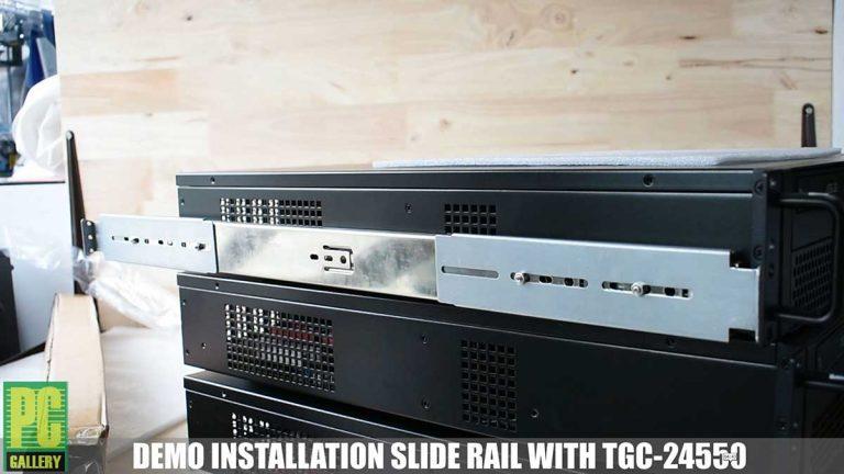 PCG DIY ตอน สาธิตการติดตั้งรางสไลด์ TGC-03S กับ CASE 2U TGC-24550