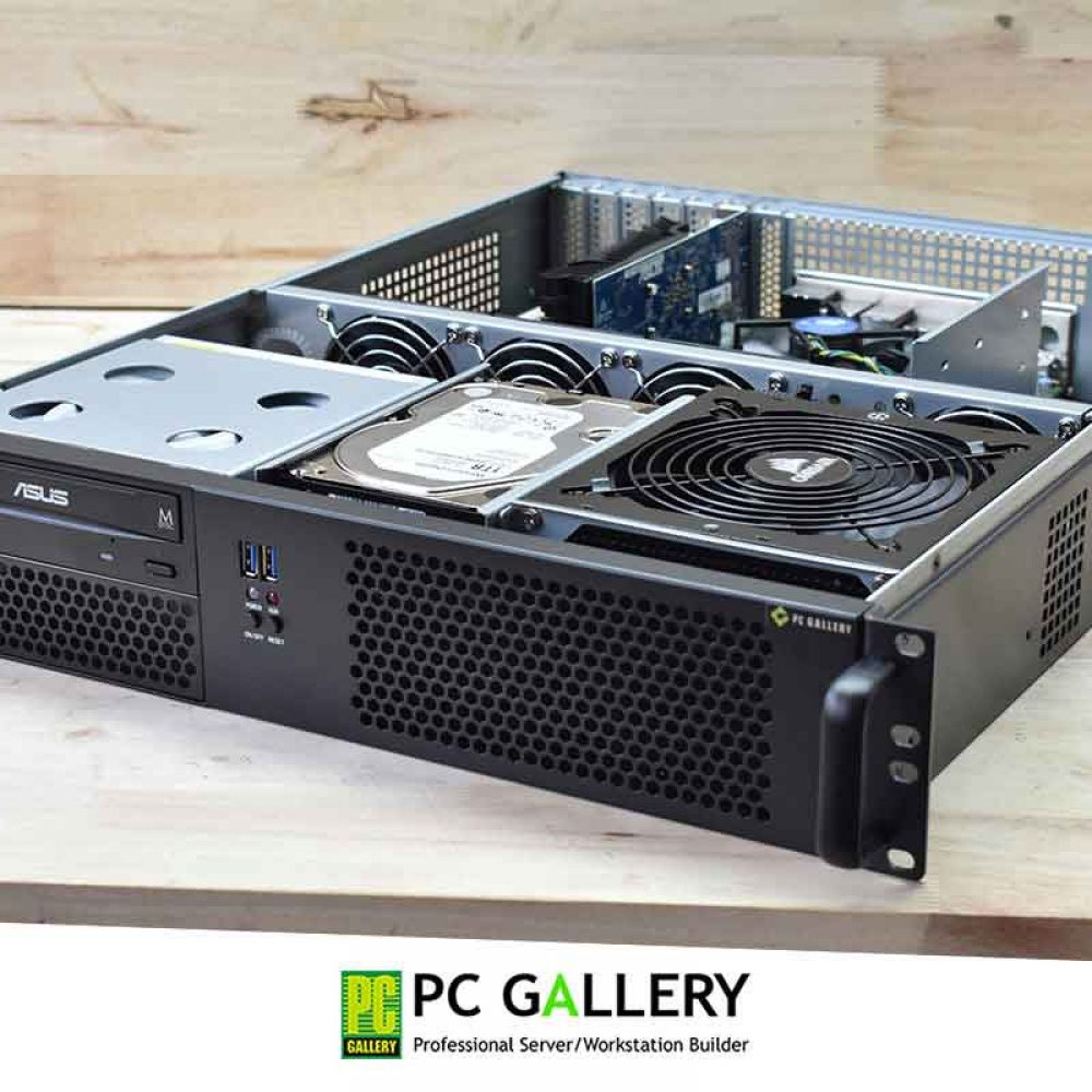 PCG DIY : ประกอบเครื่องคอมพิวเตอร์2Uเอนกประสงค์ ด้วยเคสTGC-24550 และ เมนบอร์ดSupermicro X11SAE