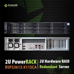 เครื่องเซิฟเวอร์ 2U PowerRACK RSP23612-X11SCA