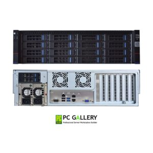 3U Server PowerRACK RSP316-X11SPMF with Redundant Power Supply 800W 1+1