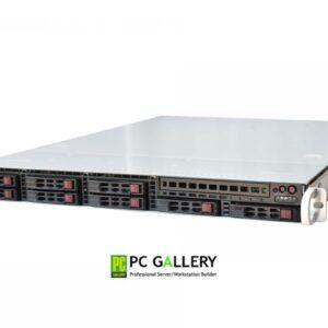 เคสเซิฟเวอร์ 1U Case, Supermicro SC113AC2-R706WB2 (with Redundant PSU 750W and Slide rail)