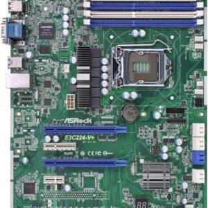 เมนบอร์ด ASROCK E3C224-V+