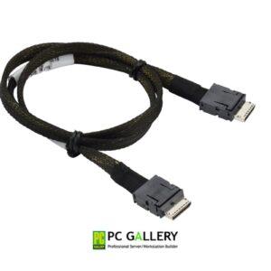 Supermicro 65cm OCuLink (SFF8611 x4) to OCuLink (SFF8611 x4) Cable (CBL-SAST-0819)