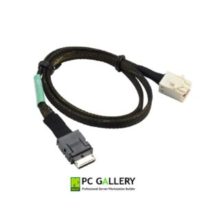 Supermicro 57cm OCuLink (SFF8611 x4) to MiniSAS HD (SFF8643) Cable (CBL-SAST-0929)