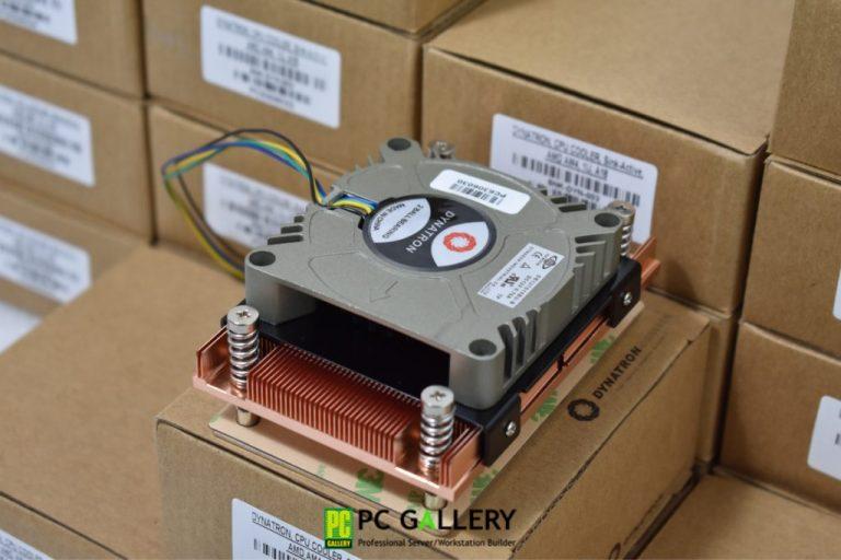 Heat Sink CPU 1U DYNATRON A18 ติดตั้งบน Ryzen5 2600