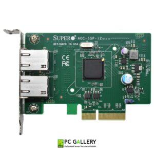 แลนการ์ด Intel i350-T2 Dual Port Gigabit Ethernet (Supermicro OEM รับประกัน 1 ปี)