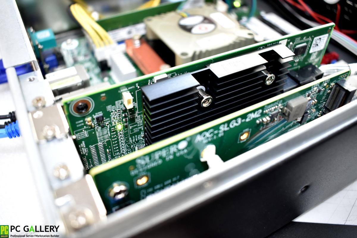 สร้าง RAID5 บน Asrock RACK X470D4U2-2T ได้ง่ายๆแค่มี Card RAID