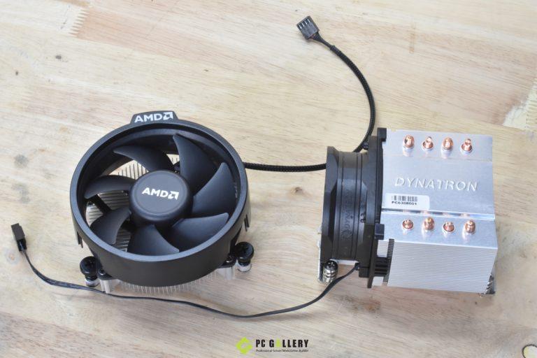 ทดสอบประสิทธิภาพ Active Sink 2U Dynatron A24 (AM4) เทียบ Sink AMD