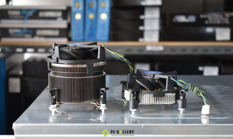 ทดสอบประสิทธิภาพ Active sink Intel BXTS15A เทียบกับ sink stock