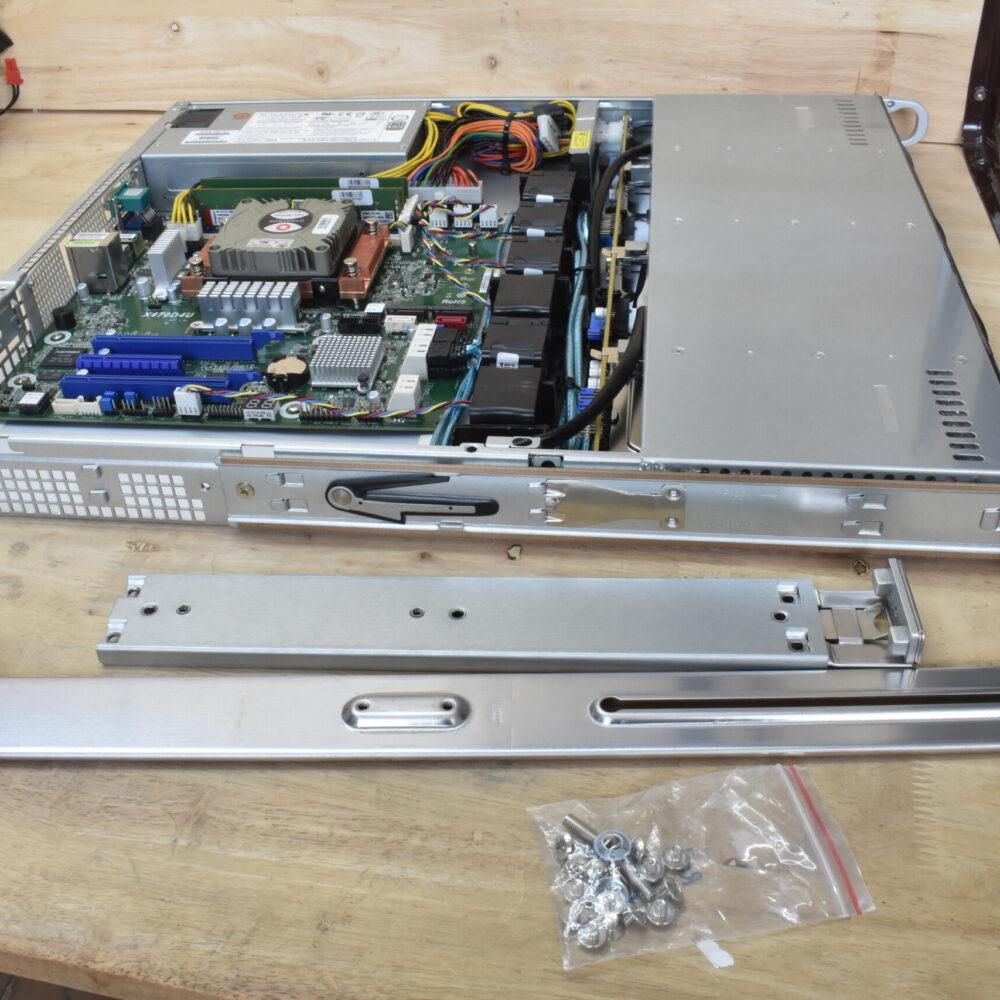 ติดตั้งรางสไลด์บน PowerRACK RSP813-X470D4U
