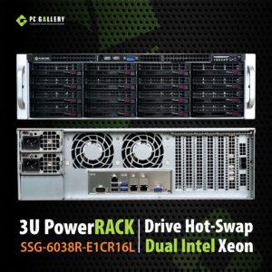 เครื่องเซิฟเวอร์ 3U Server SSG-6038R-E1CR16L
