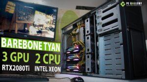 Barebone TYAN 3RTX2080 2CPUXeon