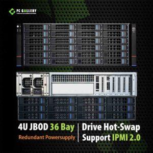 เครื่อง JBOD 4U 36Bay