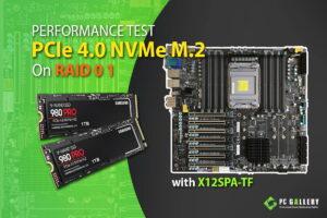 PCIe 4.0 performance test