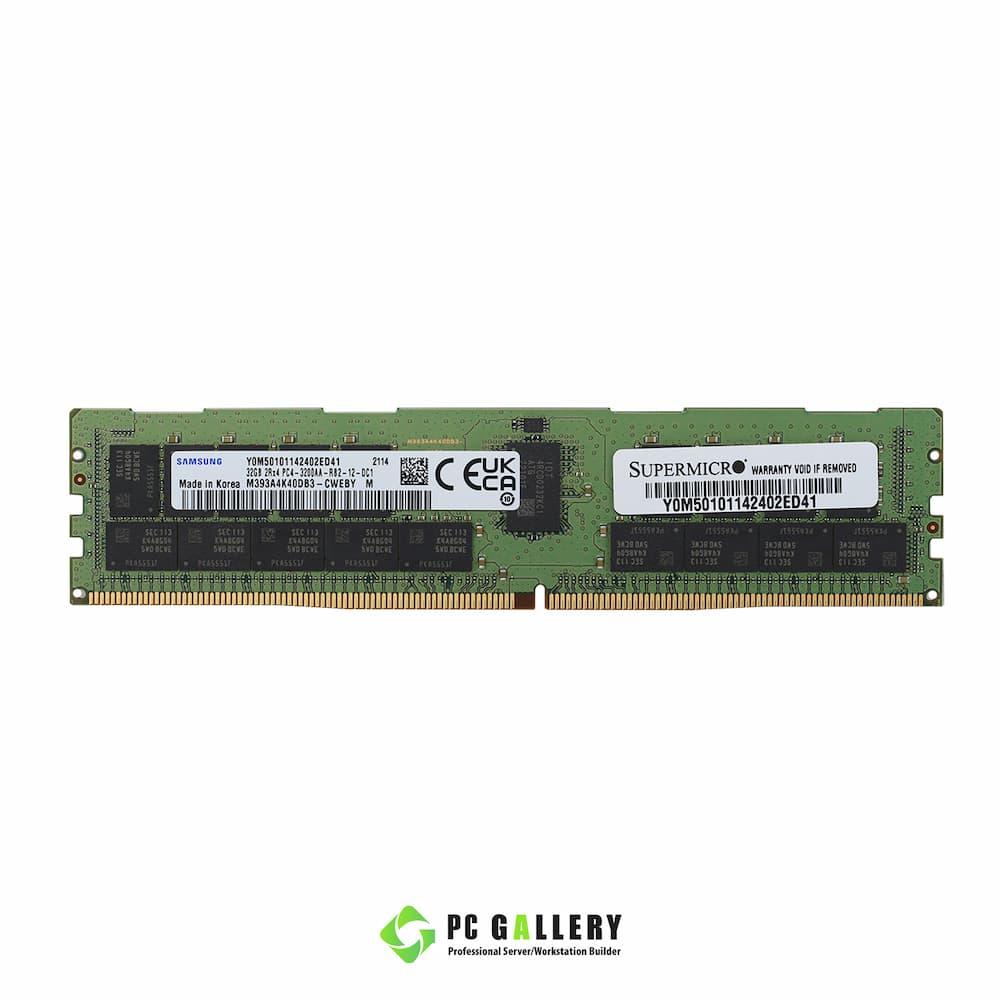 DDR4.32GB.ECC.REG.3200 M393A4K40DB3-CWEBY-Front