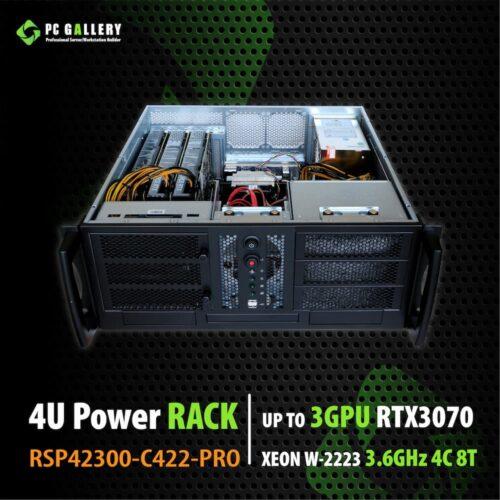 4U Workstation RSP42300 C422 PRO