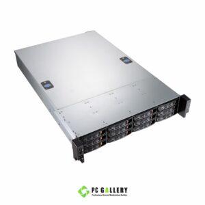 เคสเซิฟเวอร์ 2U HEC S2E01-312-R80L (12hot-swap พร้อม PSU redundant 800w)