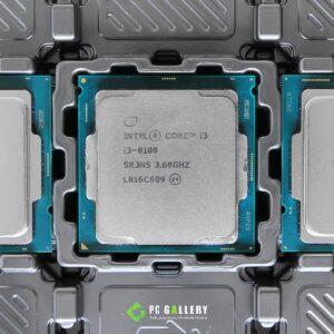 หน่วยประมวลผล Intel Core i3-8100, LGA1151, 3.60GHz, 4C/4T, 6MB