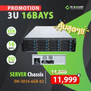 เคสเซิฟเวอร์ 3U TGC DH-3016-6GB-02